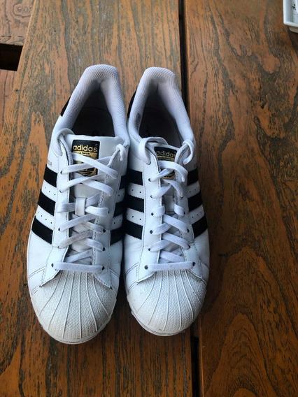 Zapatillas adidas Superstars,talle 10 Us(42 Arg)