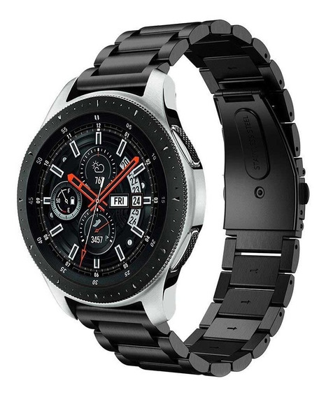 Pulseira Metal Samsung Galaxy Watch 46mm Preto Ou Prata