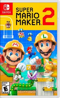 Super Mario Maker 2 Fisico Switch