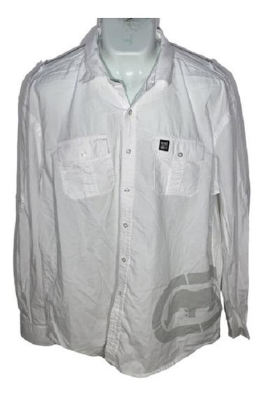 G Camisa 3xl Ecko Unltd Id C320 Used Detalle Hombre Remate!