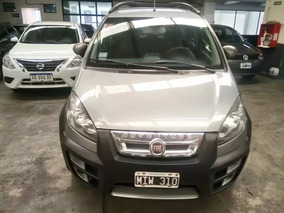 Fiat Idea Adventure 1.6 16v Gris Oscuro Financiamos Ac