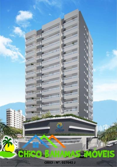 Lançamento Apto 01 Dormitório - Balneário Maracanâ - Ap733