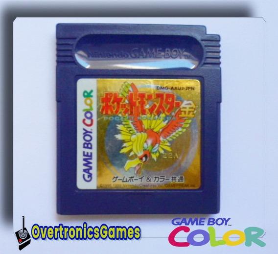 Jogo Pokémon Gold Original Game Boy Color Advance