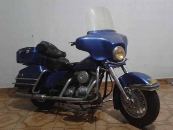 Mini Moto Harley Davidson Electra Glide Classic P/ Restauro