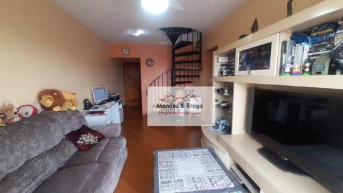 Imagem 1 de 22 de Cobertura À Venda, 134 M² Por R$ 650.000,00 - Santana - São Paulo/sp - Co0027