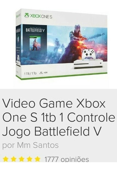 Vídeo Game Xbox