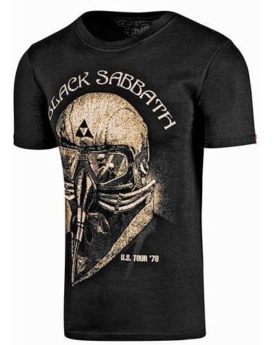 Playera Black Sabbath Hombre Ltx 37191000 Negro 78434 T3