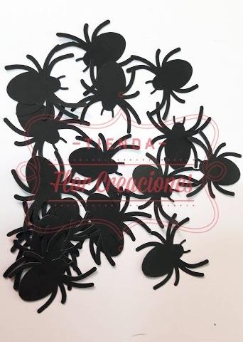 30 Arañas Halloween Figuras Troqueladas Cartulina