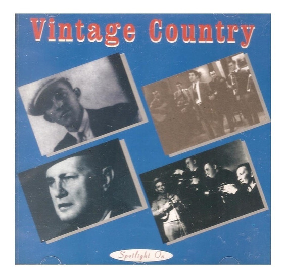 Cd Vintage Country -c/ Bill Monroe Gene Autry Jimmie Rodgers