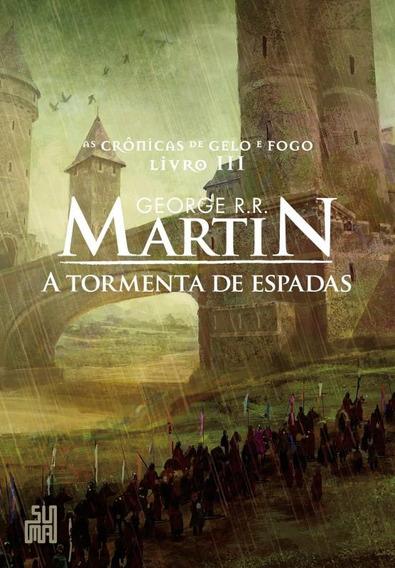Tormenta De Espadas, A - As Cronicas De Gelo E Fogo Livro