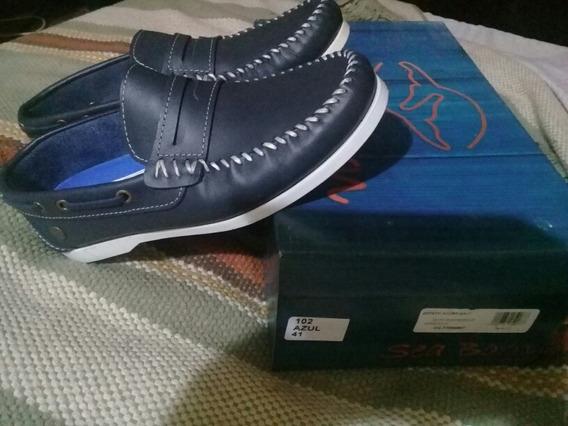 Zapato Nautico Cuero