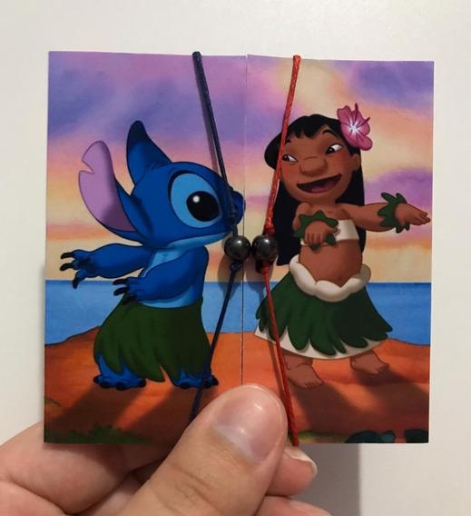 Kit Pulseiras Magnéticas Lilo E Stitch