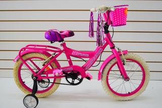 Bicicleta Rodado 16 Nena Bruzzoni Princesita