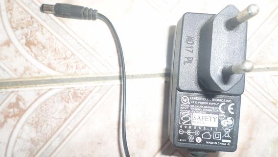 Fonte Ite Leader Eletronics Mod. Mu05-n090060-c5 9v 0.6a Biv
