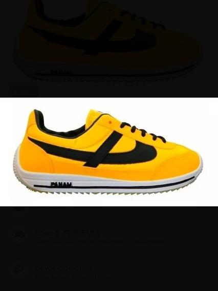 Tenis Panam Amarillos