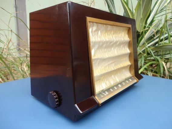 Rádio Antigo Rca Valvulado Modelo: 1x591.