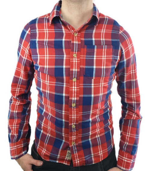 Camisa Hollister Xadrez Original - Modelo Country I I - Ecominove Outlet
