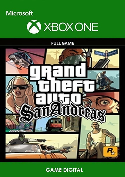 Gta San Andreas Xbox One Game Licença Digital