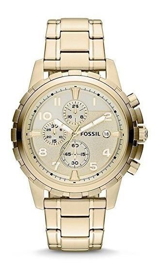 Reloj Fossil Dean Fs4867 Dorado