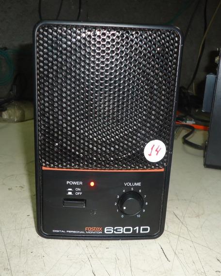 1 Monitor Referência Fostex 6301d Ref:fd198s1fds