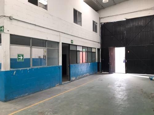 Renta Bodega/ Nave Industrial En Circonia Iztapalapa