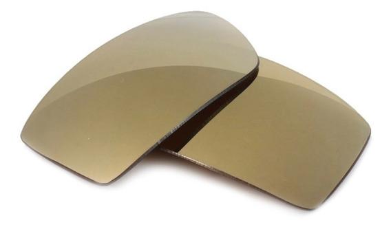 Lentes P/ Gascan Gold Marrom Frete Grátis