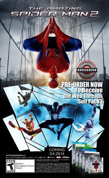 The Amazing Spider Man 2 Pc - Midia Digital