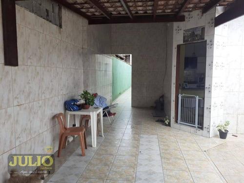 Imagem 1 de 13 de Casa Com 3 Dormitórios À Venda, 79 M² Por R$ 230.000,00 - Balneário Litoral Paulista - Mongaguá/sp - Ca4057