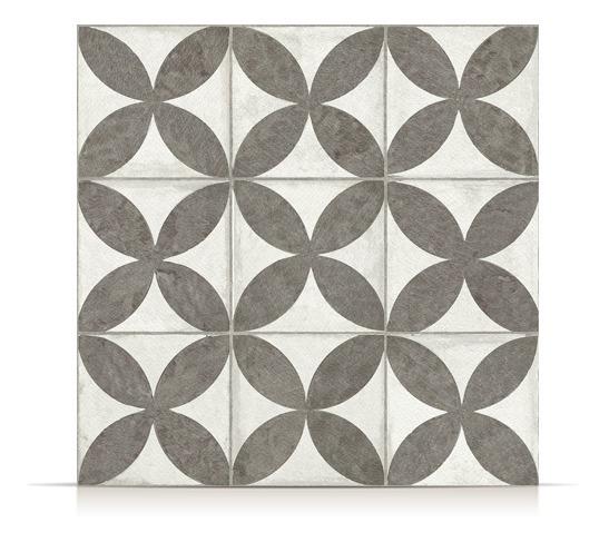 Ceramica San Lorenzo Flower Black 45,3x45,3 1era!!