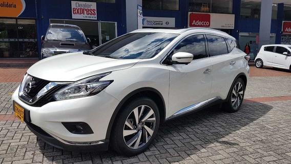 Nissan Murano Exclusive 4x4 Aut 2018