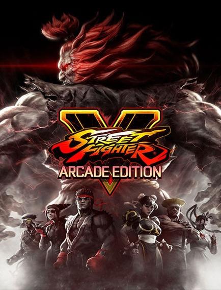 Street Fighter V Arcade Edition Pc - Steam Key (envio Flash