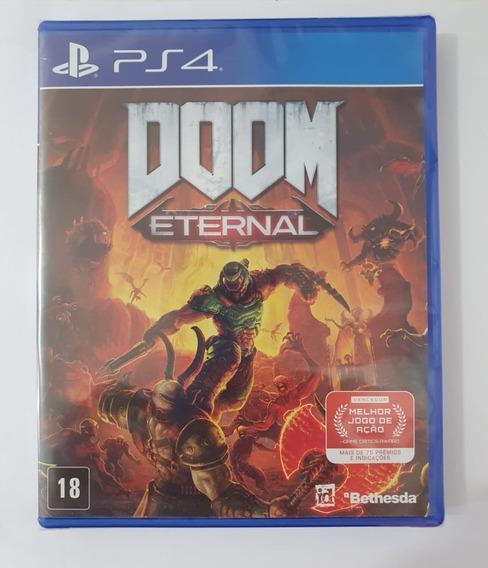 Doom Eternal (mídia Física 100% Em Pt-br) - Ps4 (novo)