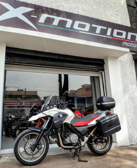 Xmotion Bmw G 650 Gs Low, Versión Baja, Año 2013, 3 Maletas