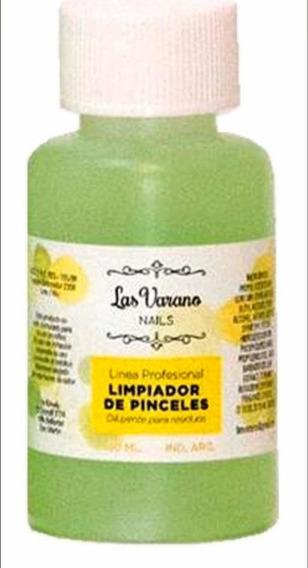 Líquido Limpiador De Pinceles 100ml Uñas Acrílico Gel