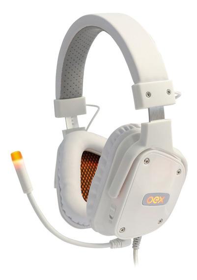 Fone Gamer Headset Shild 7.1 Usb Hs409 Branco Oex