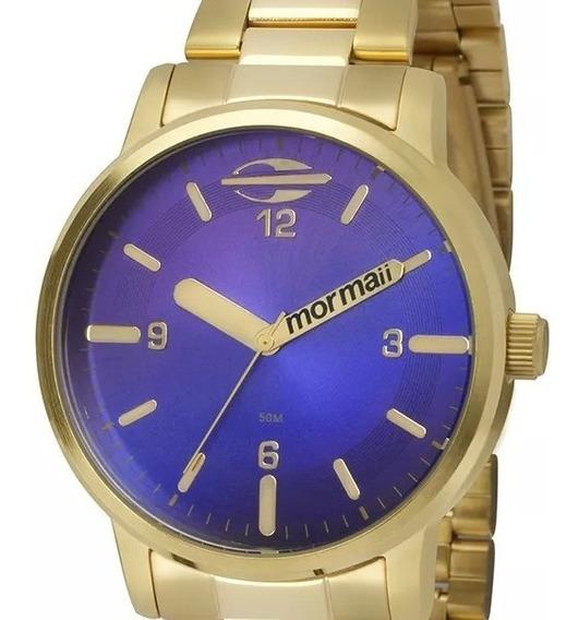 Relógio Mormaii Feminino Mauii Dourado - Mo2035cn/4a