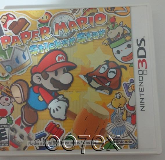 Paper Mario Sticker Star Nintendo 3ds