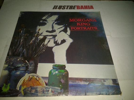 Lp Morgana King Portraits 1983 Ed. France Lacre