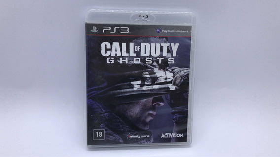 Call Of Duty Ghosts - Ps3 - Midia Fisica Em Cd Original