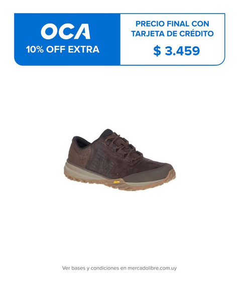 Hombre Merrell Havoc Leather Espresso Active Lifestyle