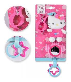 Hello Kitty Colgante Con Actividades Bebe Peluche Espejo