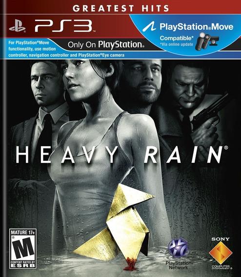 Heavy Rain Director´s Cut (mídia Física) - Ps3
