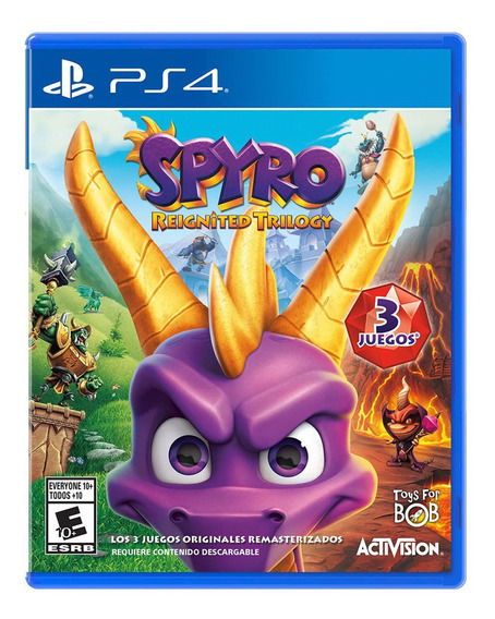 Spyro Reignited Trilogy Formato Físico Ps4 Original