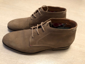 Zapatos Tommy Hilfiger Campbell 4b Beige Suede 9us 42eu
