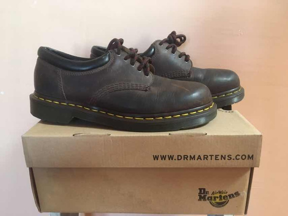 Dr Martens 1461 Brown Smooth Collarin 6 Uk