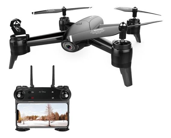 Drone Sg106 22 Min De Vôo 2 Câmeras 720p Hd Top Lançament