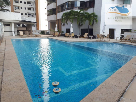 Apartamento Com 4 Dormitórios Para Alugar, 188 M² Por R$ 5.500/mês - Pituba Ville - Salvador/ba - Ap0201