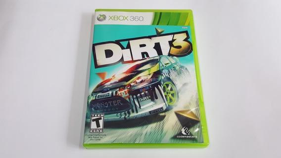 Jogo Dirt 3 - Xbox 360 - Original - Mídia Física