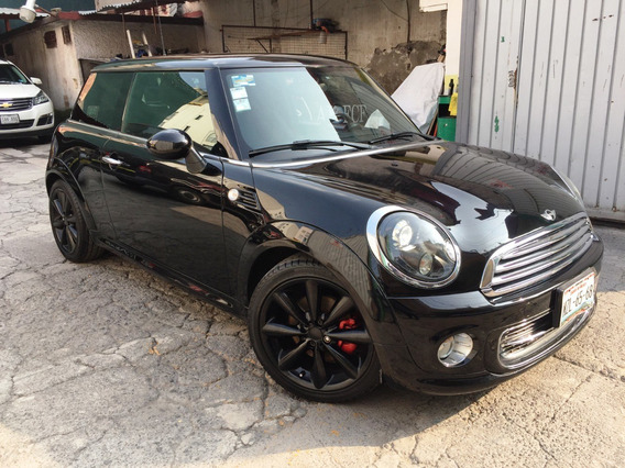 Mini Cooper 2013 All Black. Automático, 53000 Kms,seminuevo