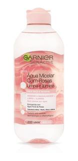 Agua Micelar Con Rosas Garnier Skin Active Limpia E Ilumina